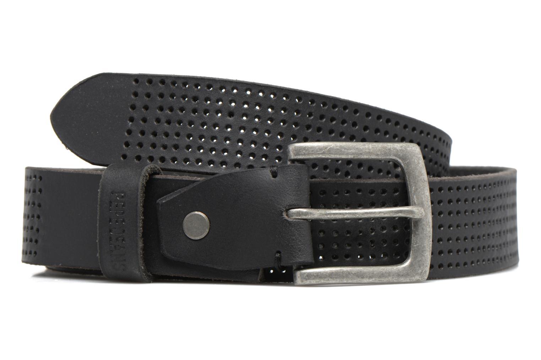 Ceintures Pepe jeans NEW LEWIN Leather Belt 30mm Noir vue détail/paire