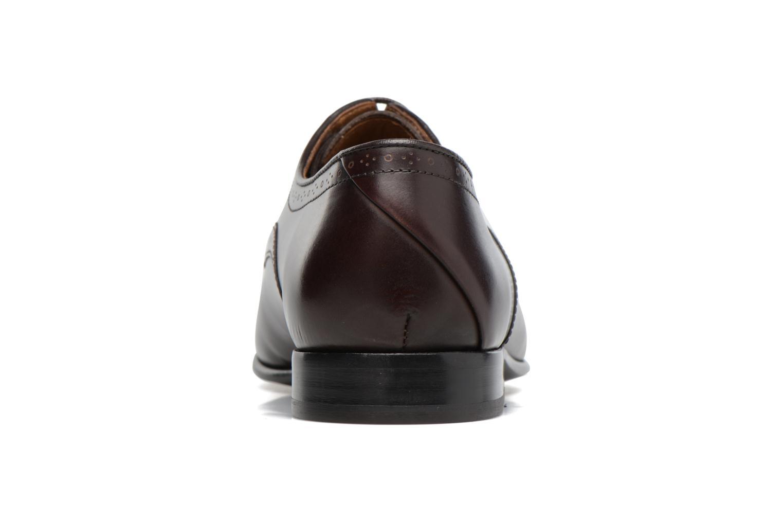 Chaussures à lacets Paul Smith Roth Marron vue droite
