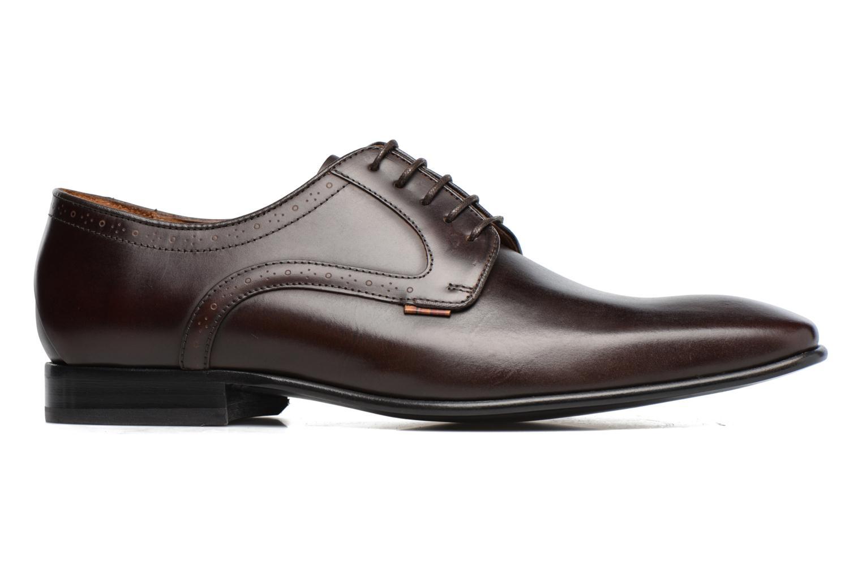 Chaussures à lacets Paul Smith Roth Marron vue derrière