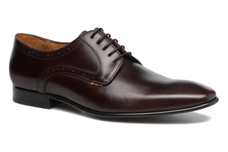 Chaussures à lacets Paul Smith Roth Marron vue détail/paire