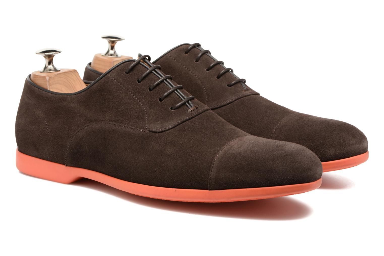 Chaussures à lacets Paul Smith Eduardo Marron vue 3/4