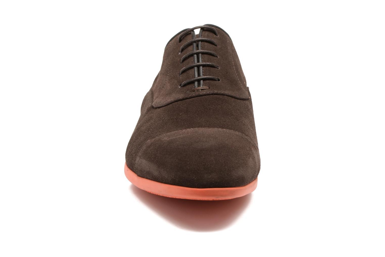 Chaussures à lacets Paul Smith Eduardo Marron vue portées chaussures