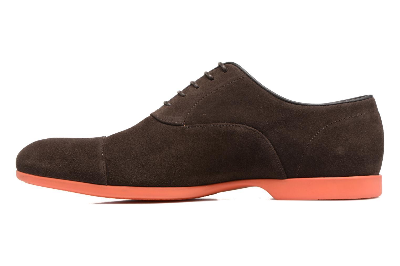 Chaussures à lacets Paul Smith Eduardo Marron vue face