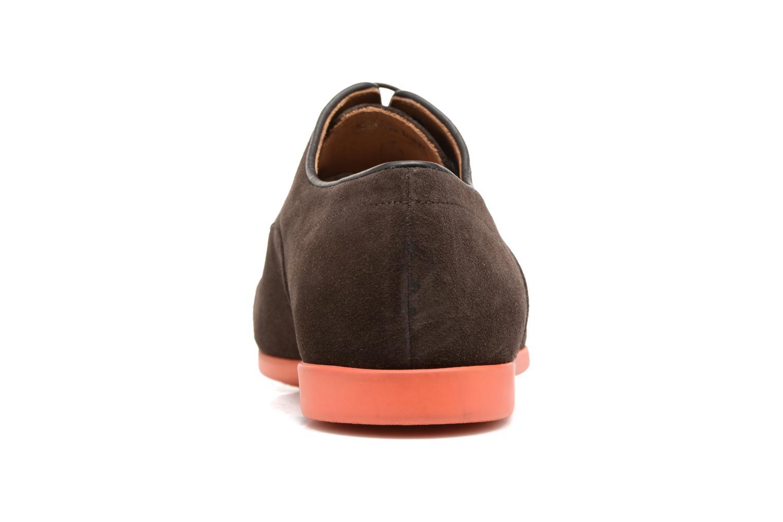 Chaussures à lacets Paul Smith Eduardo Marron vue droite