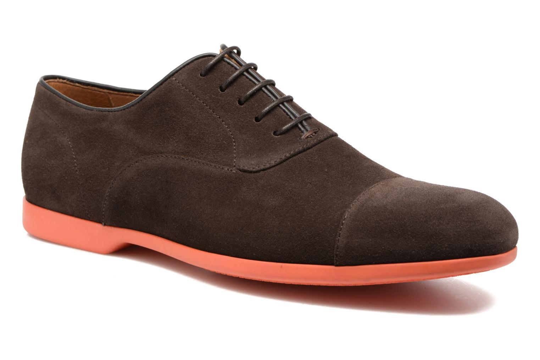 Chaussures à lacets Paul Smith Eduardo Marron vue détail/paire