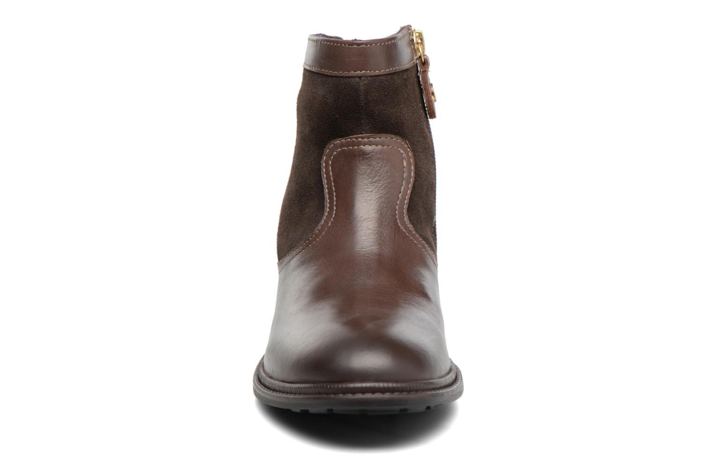 Bottines et boots Gioseppo Cleveland Marron vue portées chaussures