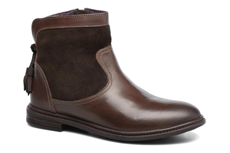 Bottines et boots Gioseppo Cleveland Marron vue détail/paire