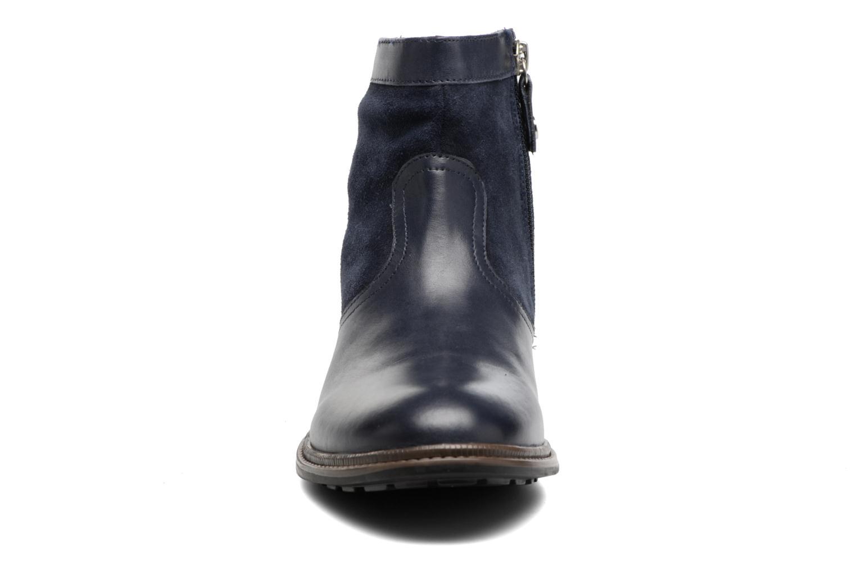 Bottines et boots Gioseppo Cleveland Bleu vue portées chaussures