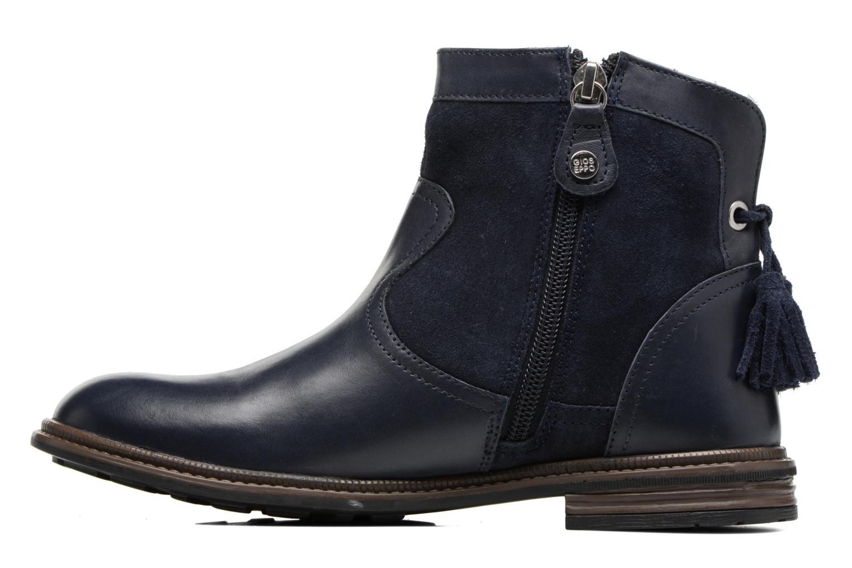 Bottines et boots Gioseppo Cleveland Bleu vue face