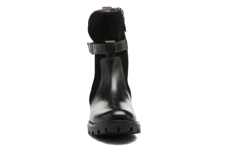 Bottes Gioseppo Diversite Noir vue portées chaussures