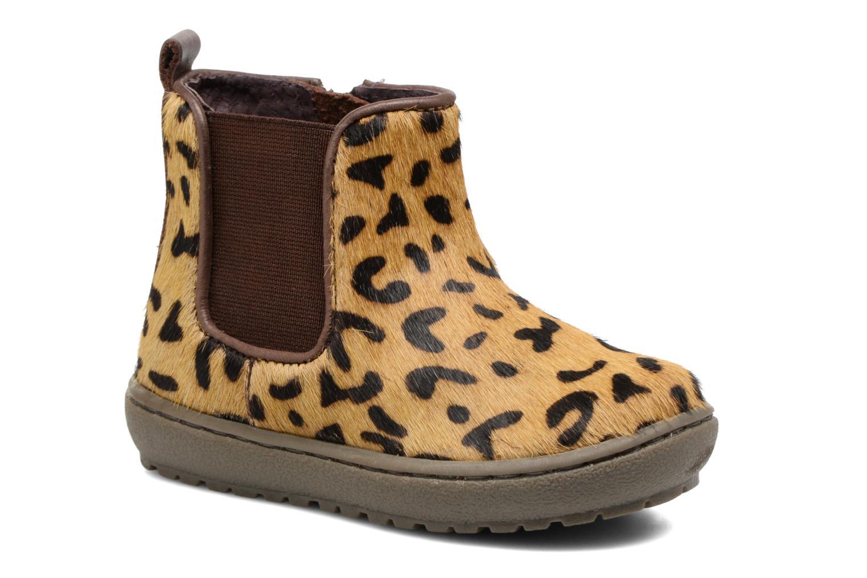 Bottines et boots Gioseppo Eaton Marron vue détail/paire