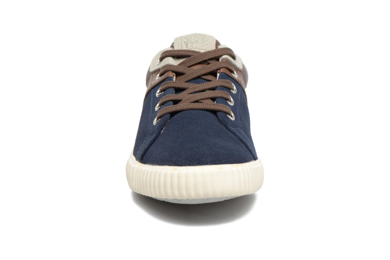 Baskets Gioseppo Mundua Bleu vue portées chaussures