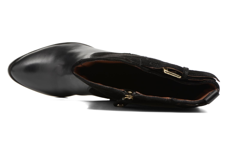 Bottes Gioseppo Alabaster Noir vue gauche