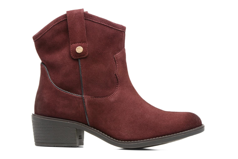 Bottines et boots Gioseppo Bastrop Bordeaux vue derrière