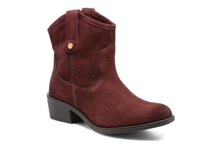 Bottines et boots Gioseppo Bastrop Bordeaux vue détail/paire