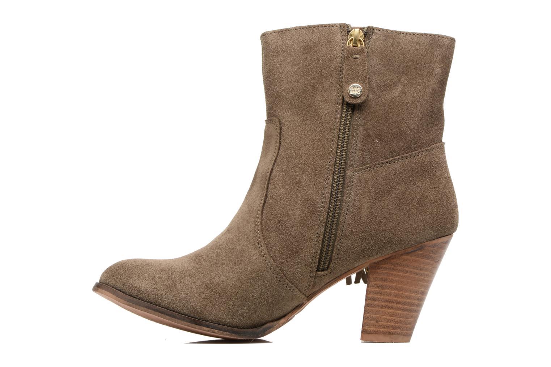 Bottines et boots Gioseppo Shelby Vert vue face