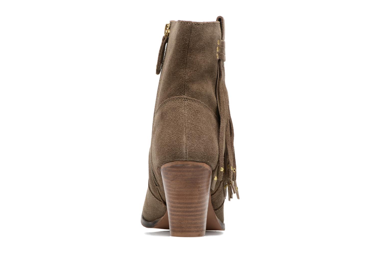 Bottines et boots Gioseppo Shelby Vert vue droite