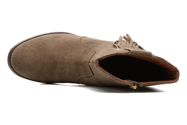Bottines et boots Gioseppo Shelby Vert vue gauche