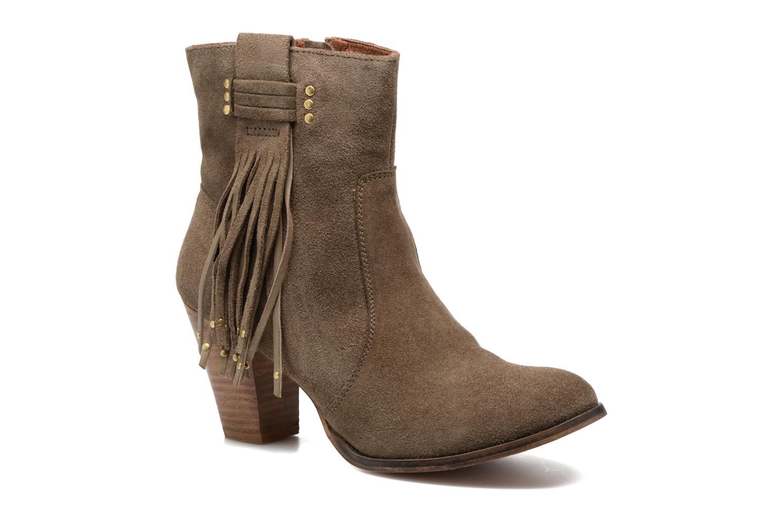 Bottines et boots Gioseppo Shelby Vert vue détail/paire