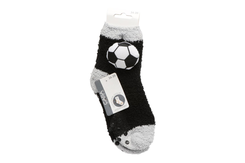 Chaussons Chaussette Garçon Foot Antidérapantes Noir