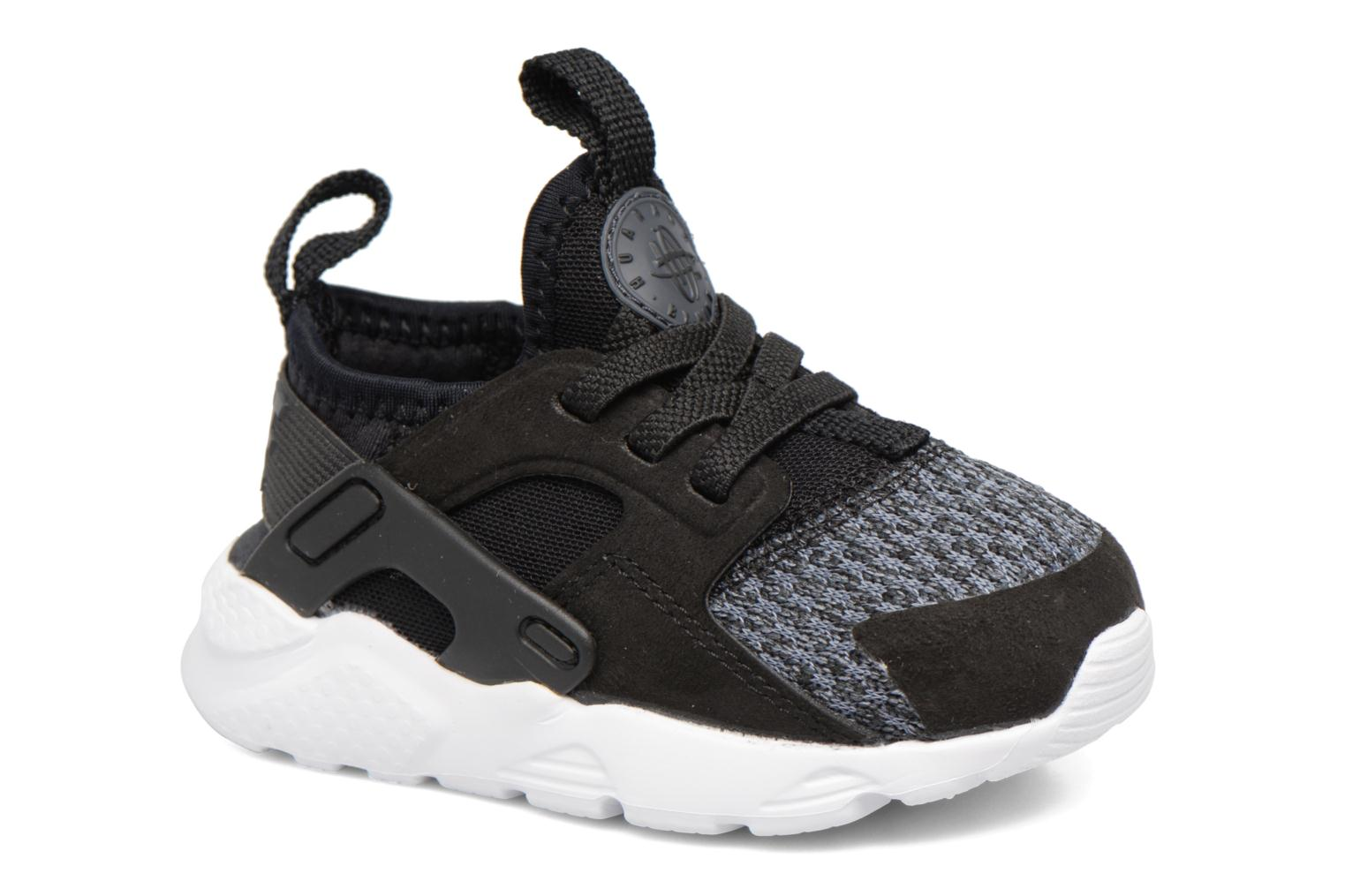 Baskets Nike Huarache Run Ultra Se (Td) Gris vue détail/paire