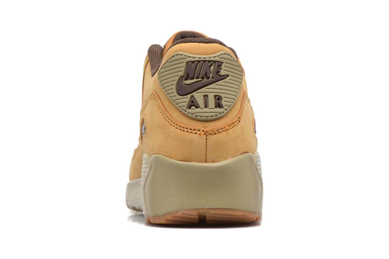 Baskets Nike Air Max 90 Winter Prm (Gs) Marron vue droite