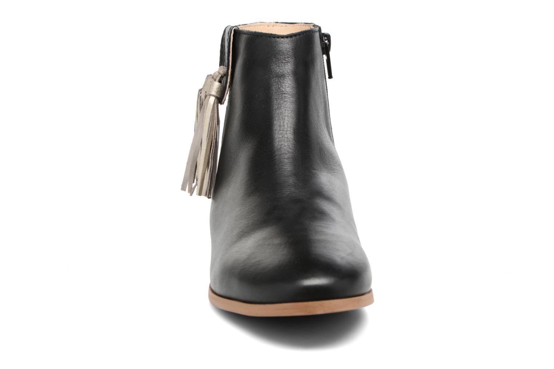 Bottines et boots Georgia Rose Goupone Noir vue portées chaussures