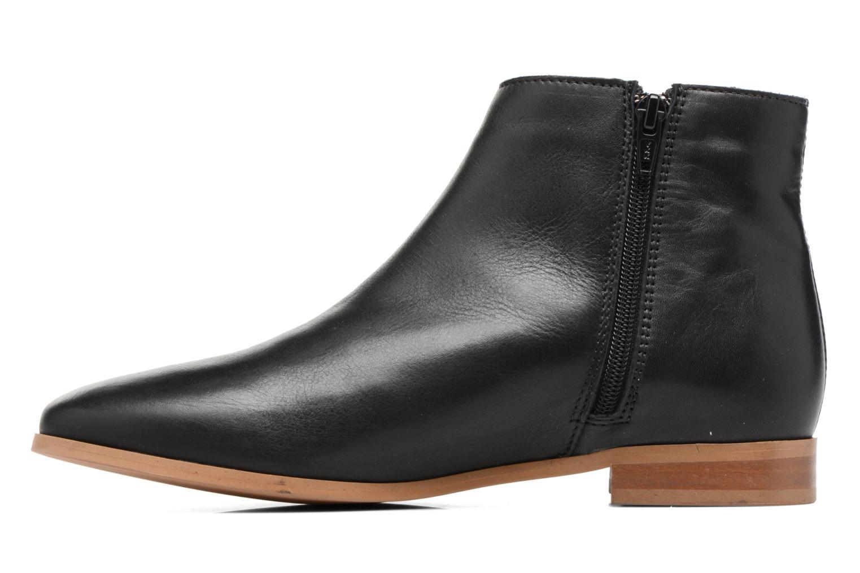 Bottines et boots Georgia Rose Goupone Noir vue face