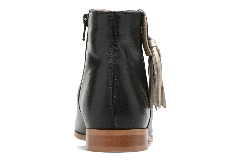 Bottines et boots Georgia Rose Goupone Noir vue droite