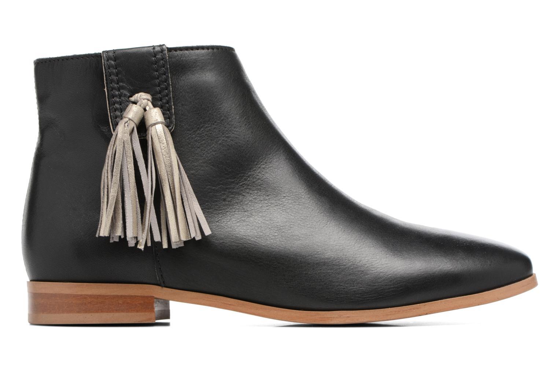 Bottines et boots Georgia Rose Goupone Noir vue derrière