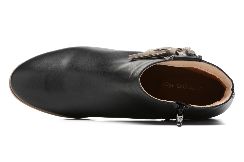Bottines et boots Georgia Rose Goupone Noir vue gauche