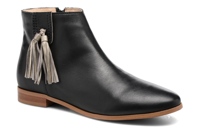 Bottines et boots Georgia Rose Goupone Noir vue détail/paire