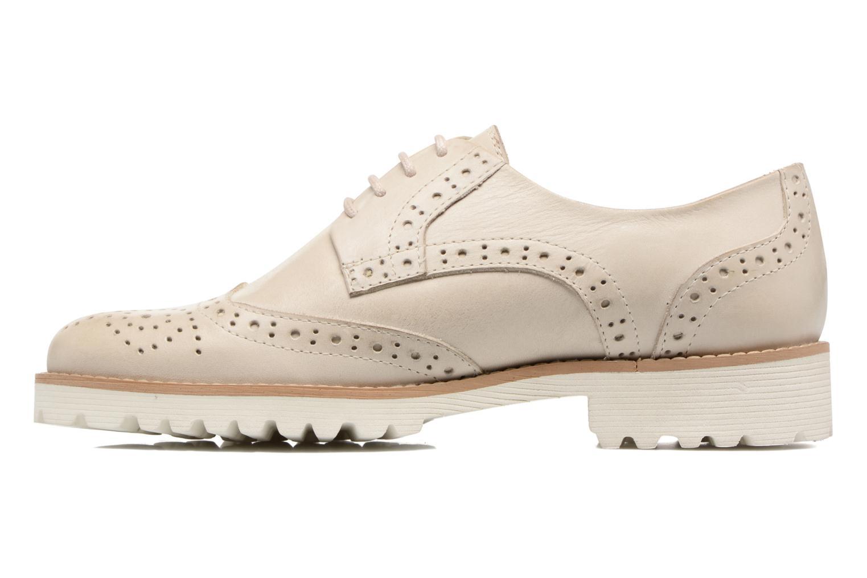Chaussures à lacets Kickers Pytch Beige vue face