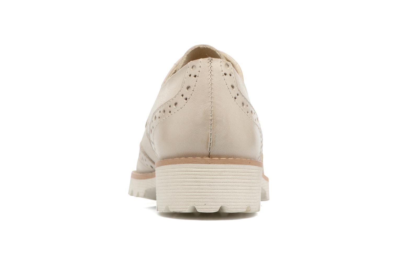 Chaussures à lacets Kickers Pytch Beige vue droite