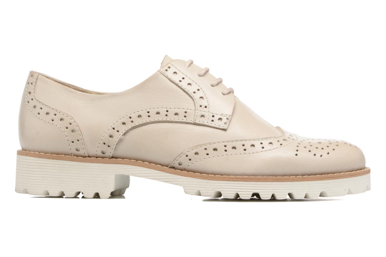 Chaussures à lacets Kickers Pytch Beige vue derrière