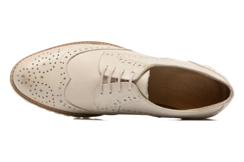 Chaussures à lacets Kickers Pytch Beige vue gauche