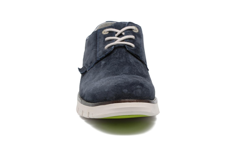 Chaussures à lacets Kickers Kick Low Sport Bleu vue portées chaussures