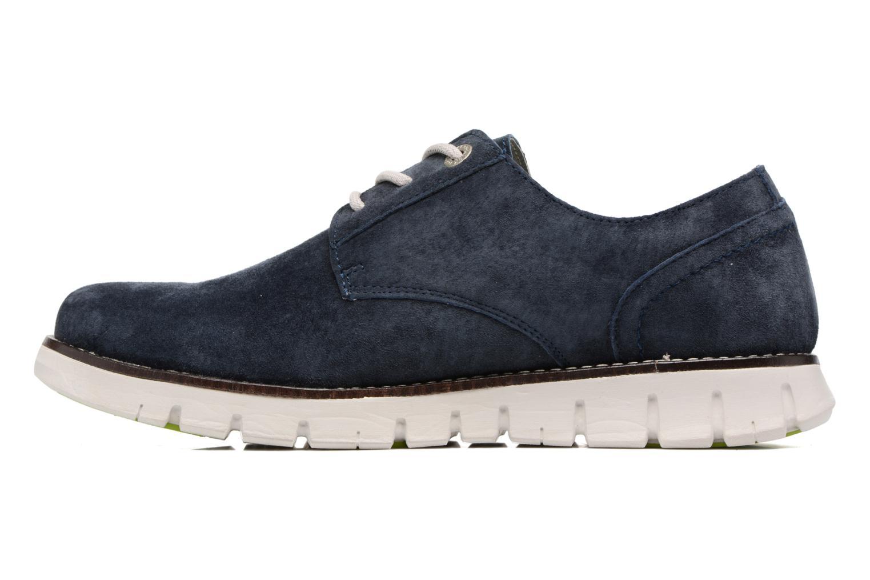 Chaussures à lacets Kickers Kick Low Sport Bleu vue face