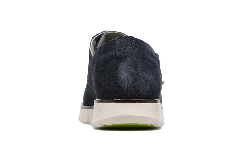 Chaussures à lacets Kickers Kick Low Sport Bleu vue droite