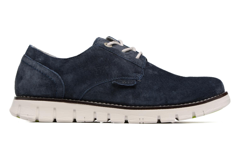 Chaussures à lacets Kickers Kick Low Sport Bleu vue derrière