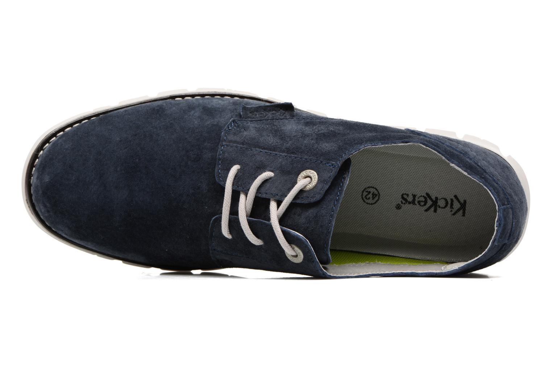Chaussures à lacets Kickers Kick Low Sport Bleu vue gauche