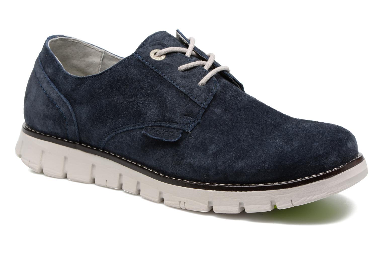 Chaussures à lacets Kickers Kick Low Sport Bleu vue détail/paire