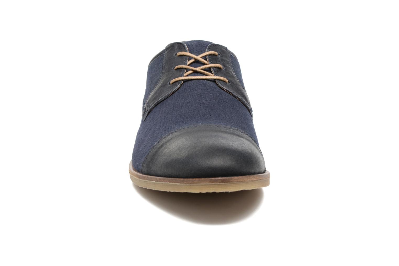 Chaussures à lacets Kickers Flamas Bleu vue portées chaussures