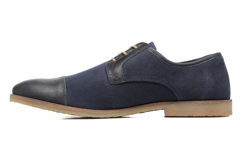 Chaussures à lacets Kickers Flamas Bleu vue face