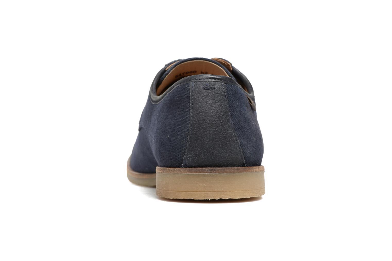 Chaussures à lacets Kickers Flamas Bleu vue droite