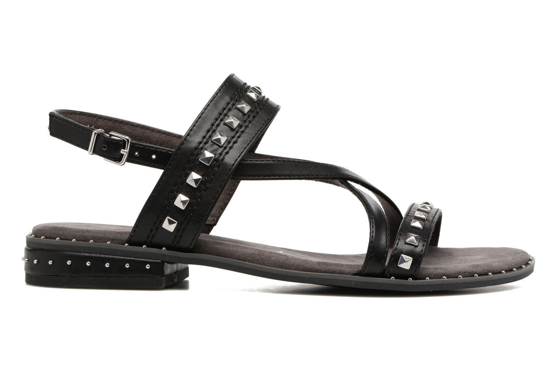 Sandales et nu-pieds Tamaris Aline Noir vue derrière