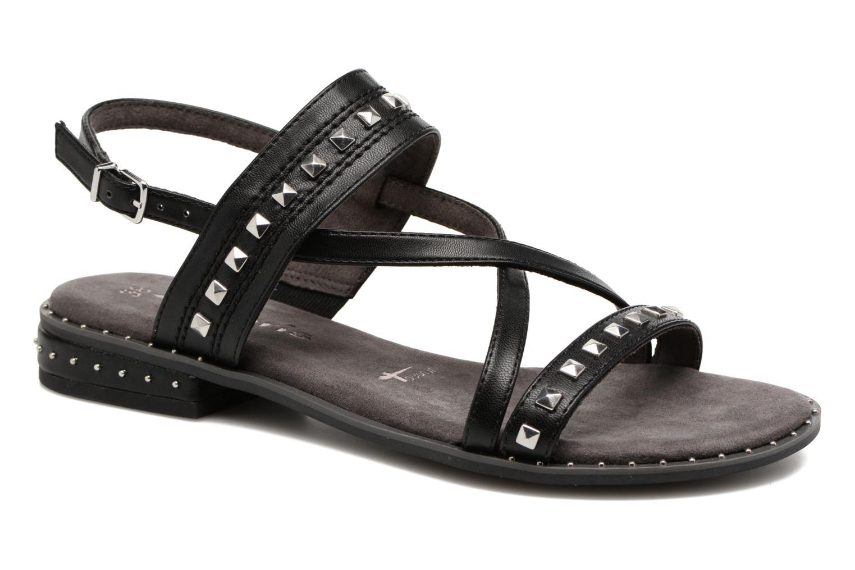 Sandales et nu-pieds Tamaris Aline Noir vue détail/paire