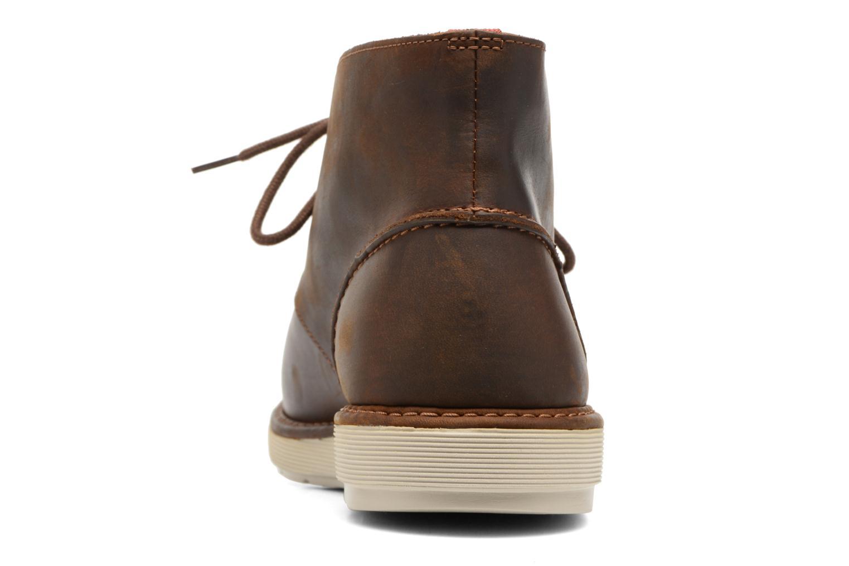 Bottines et boots Clarks Fayeman Hi Marron vue droite