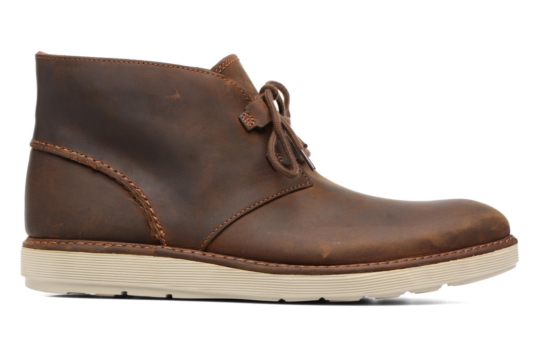 Bottines et boots Clarks Fayeman Hi Marron vue derrière