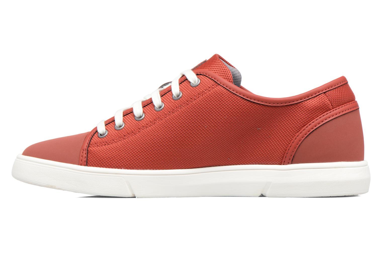 Sneakers Clarks Lander Cap Rood voorkant